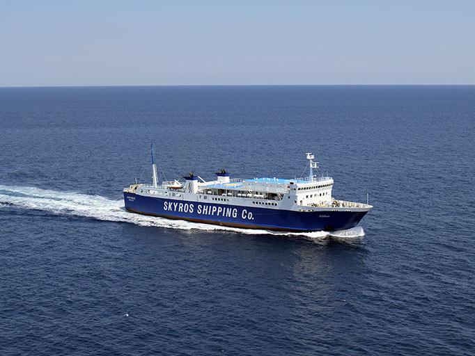 Η Σκύρος Ναυτική Εταιρεία τροποποιεί το δρομολόγιο του Σαββάτου 26/12/2020 από Σκύρο προς Κύμη