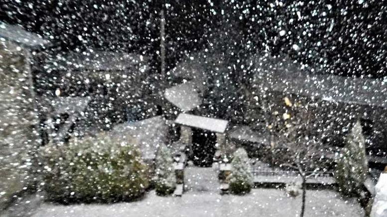 Κακοκαιρία ΄Ζηνοβία΄ - Χιόνια και το επόμενο τριήμερο και την ...