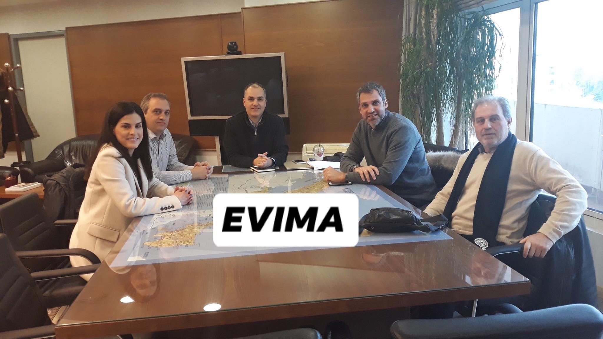 Αποκλειστικό – Συνάντηση του νέου Δ.Σ. του 9ου τμήματος του Οικονομικού Επιμελητηρίου με τον αντιπεριφερειάρχη Εύβοιας