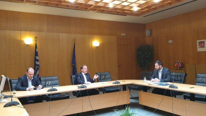 Συνάντηση Σπανού με τον υπουργό Υποδομών και Μεταφορών-Έργα για την Βοιωτία στην ατζέντα