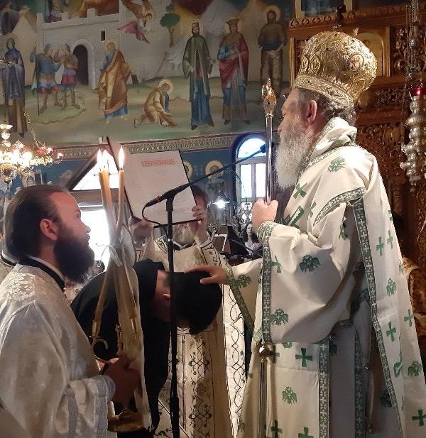 Η εορτή των Πρωτοκορυφαίων Αποστόλων στη Χαλκίδα-Χειροθεσία νέου αναγνώστη