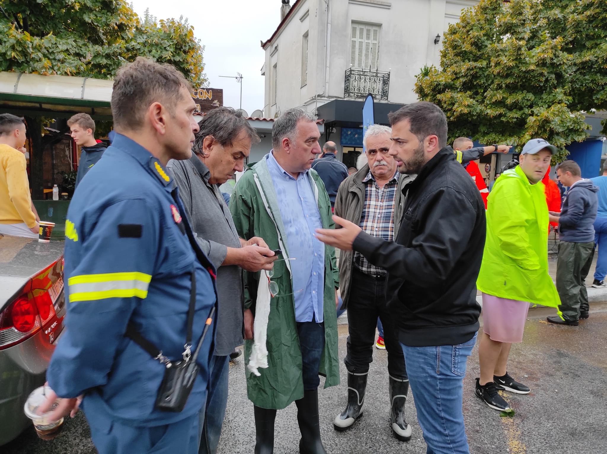 Σπανός: Όλες μας οι δυνάμεις είναι έξω για να αντιμετωπίσουν τα προβλήματα που προκάλεσε ο κυκλώνας 'Ιανός'(ΦΩΤΟ)