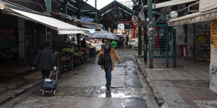 Καιρός: Kακοκαιρία με βροχές, καταιγίδες και χαλαζόπτωση σήμερα Τρίτη