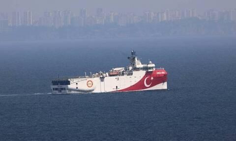 Θρίλερ με το Oruc Reis: Νέα NAVTEX μέχρι 27/10 για έρευνες σε όλη την ανατολική Μεσόγειο