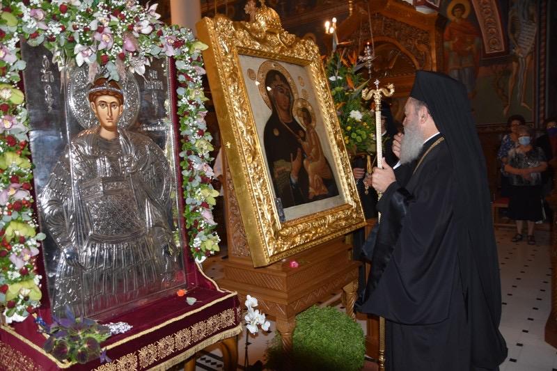 Πανηγύρισε ο Μητροπολιτικός Ιερός Ναός του Αγίου Δημητρίου Χαλκίδος