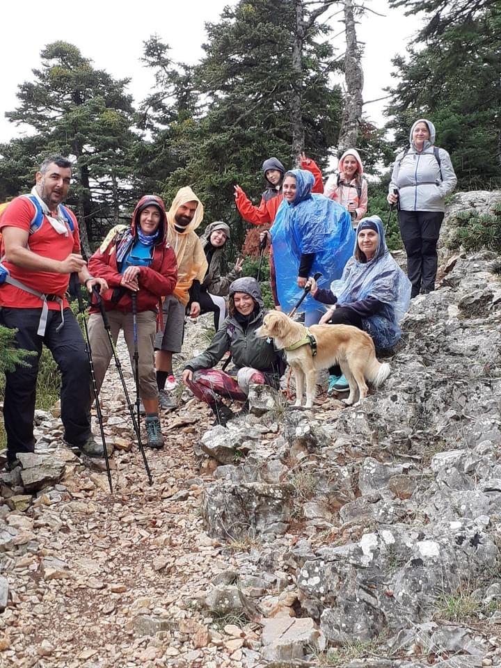 Πεζοπορία στην Πάρνηθα πραγματοποίησε ο Ορειβατικός Σύλλογος Νότιας Εύβοιας [εικόνες]