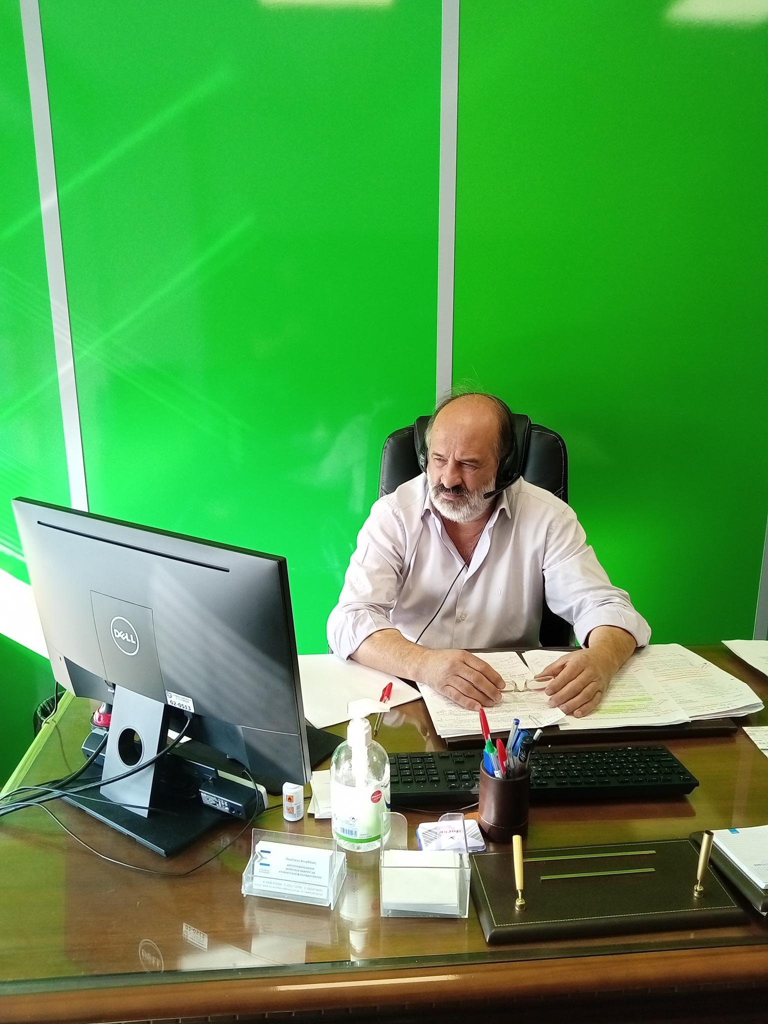 Στην τηλεδιάσκεψη με τον Μάκη Βορίδη ο Βουρδάνος-Τι συζήτησαν