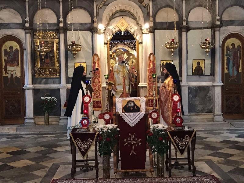 Ο Εορτασμός της μνήμης του Οσίου Ιακώβου (Τσαλίκη) στην Ιερά Μητρόπολη Χαλκίδος