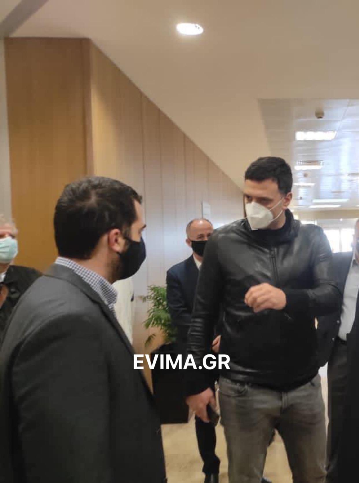 Εύβοια: Σπανός και Κικίλιας ευχαρίστησαν τους υγειονομικούς για τον επώδυνο αγώνα τους