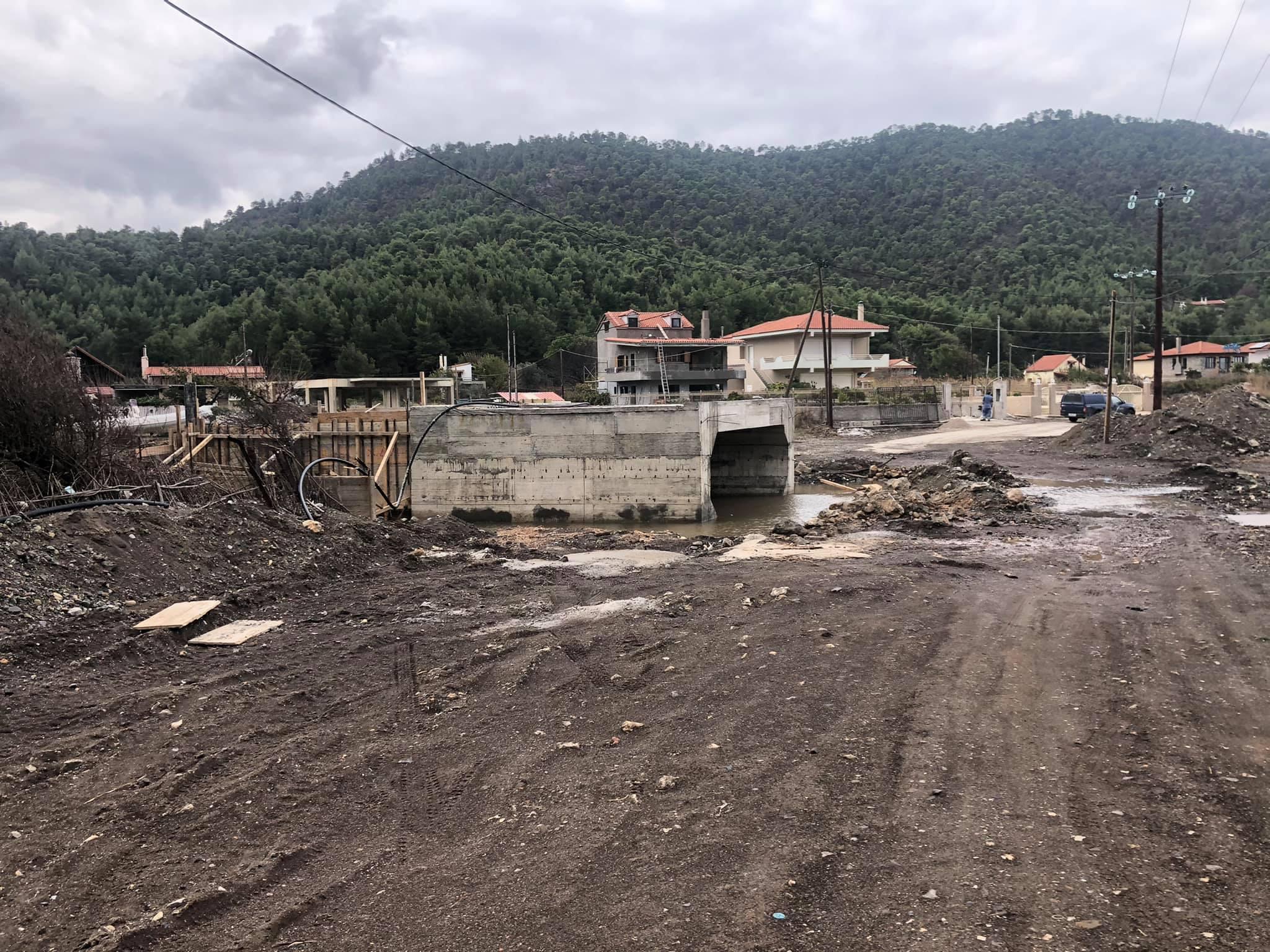 Β. Εύβοια: Συνεχίζονται τα έργα πνοής στο Πήλι του Δήμου Μαντουδίου Λίμνης Αγίας Άννας – Εικόνες