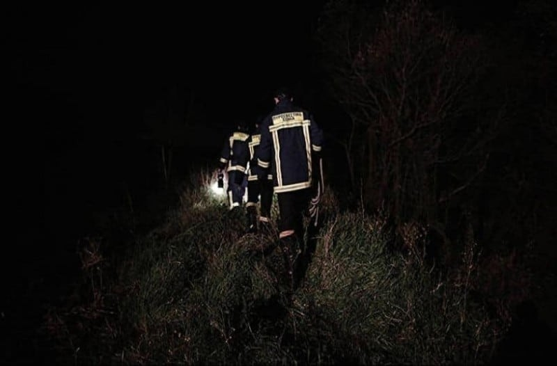 Εύβοια-Άκαρπες οι έρευνες για τον εντοπισμό των δύο νεαρών που αγνοούνται σε περιοχή του Δήμου Διρφύων Μεσσαπίων