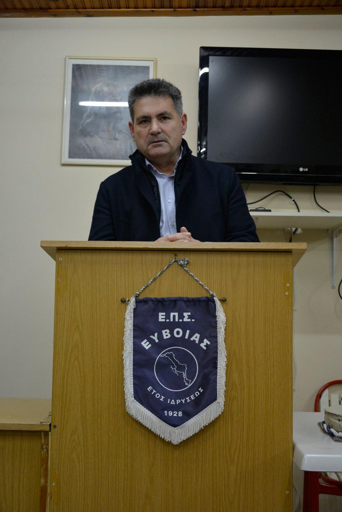 Στο νοσοκομείο με εγκεφαλικό ο Πρόεδρος της ΕΠΣ Ευβοίας Γιάννης Ρέτσας