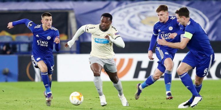 Europa League: Ηττα με κάτω τα χέρια για την ΑΕΚ, 2-0 από τη Λέστερ