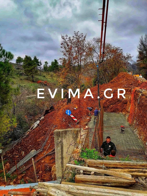 Εύβοια Δήμος Διρφύων Μεσσαπίων: Πυρετωδώς συνεχίζονται τα έργα στο Κοντοδεσπότι [εικόνες]
