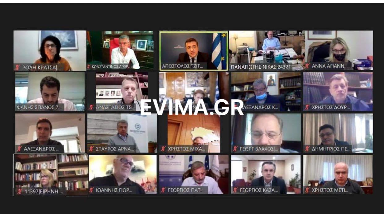 Στην τηλεδιάσκεψη της Ένωσης Περιφερειών Ελλάδας ο Φάνης Σπανός – Τι συζήτησαν για την πανδημία