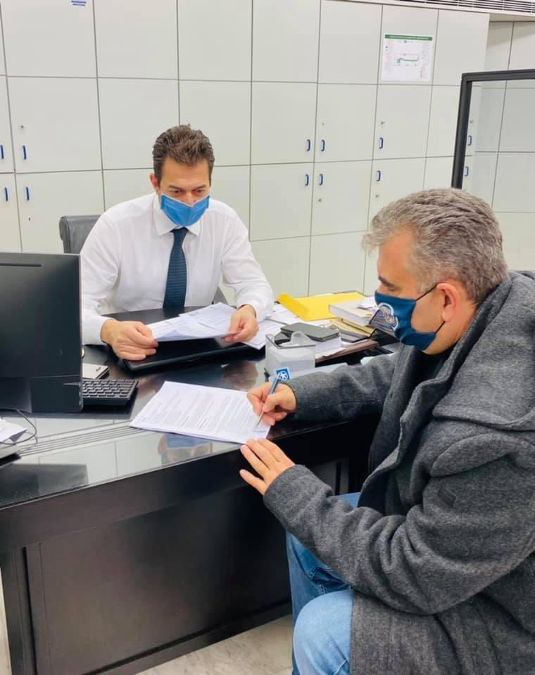 Λευτέρης Ραβιόλος: Υπέγραψε σύμβαση για νέο ΑΤΜ στο δήμο Καρύστου – Δείτε σε ποια περιοχή