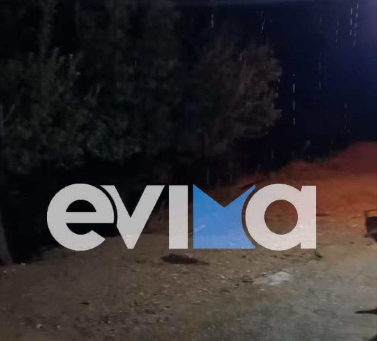 Εύβοια – Κάρυστος: Έντονη χαλαζόπτωση, αστραπές και διακοπές ρεύματος στο Πόθι [βίντεο]