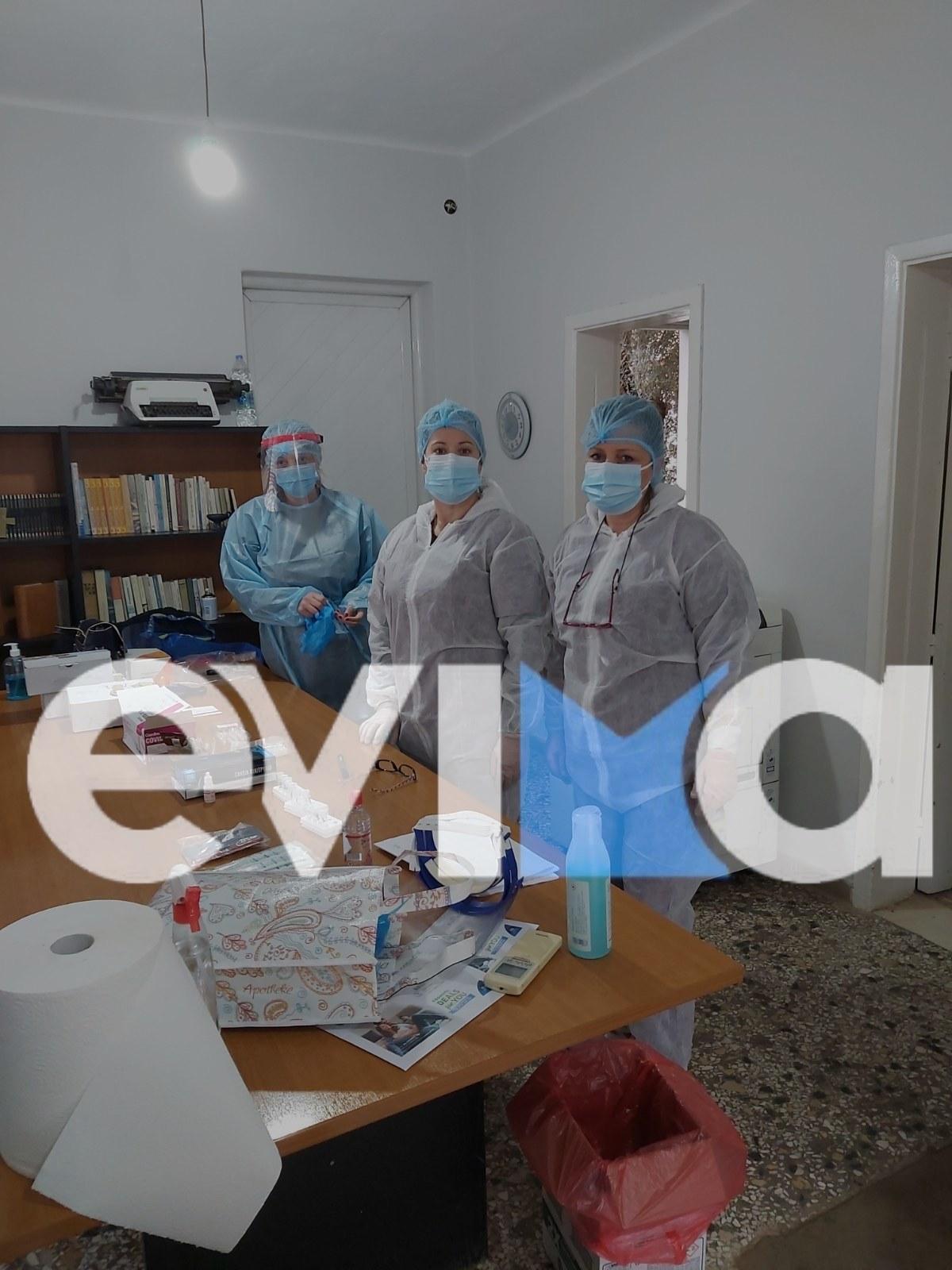 Κορονοϊός Εύβοια: Rapid test στην Κοινότητα Τριάδας – Θα γίνουν και στον Άγιο Αθανάσιο