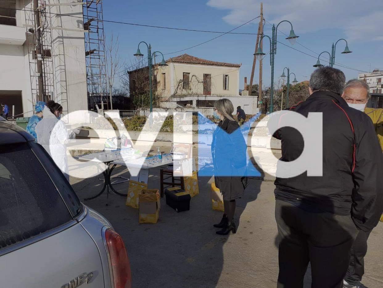 Εύβοια – Ψαχνά: Σε κατ' οίκον καραντίνα 14 ημερών τα σημερινά έξι κρούσματα